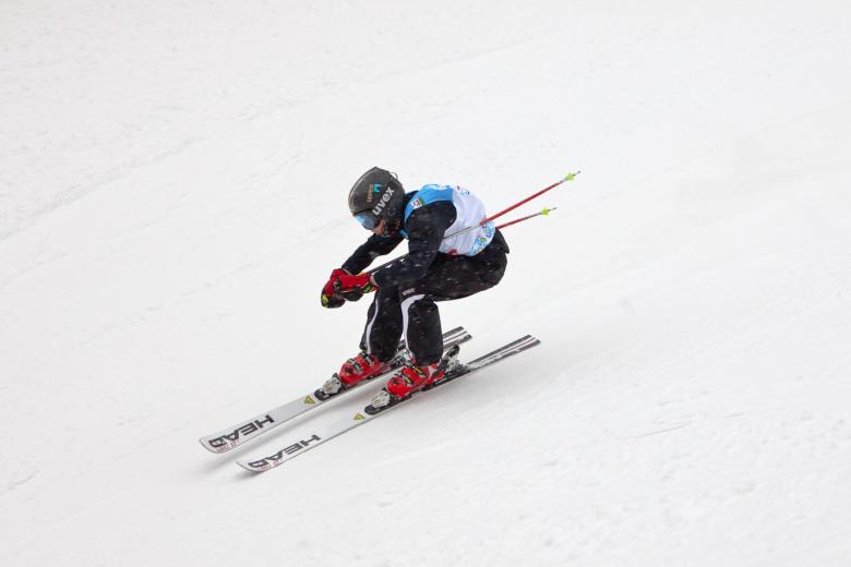 Free Stock Photo of skier Created by skydie