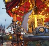 Free Photo - Retro Artistic Merry go round in Brussel