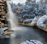 Free Photo - Zoo Waterfall - Winter Blue HDR