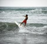 Free Photo - Child surfing