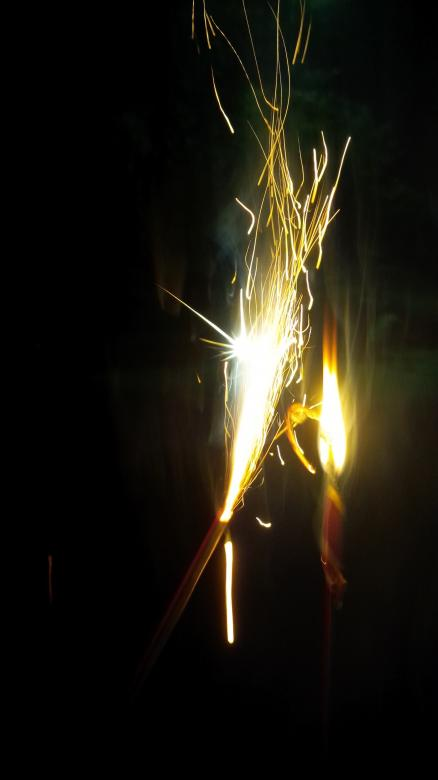 Free Stock Photo of Sparklers Created by Samantha S