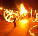 Free Photo - Fire show