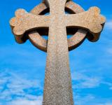 Free Photo - Guernsey Cemetery Celtic Cross - HDR