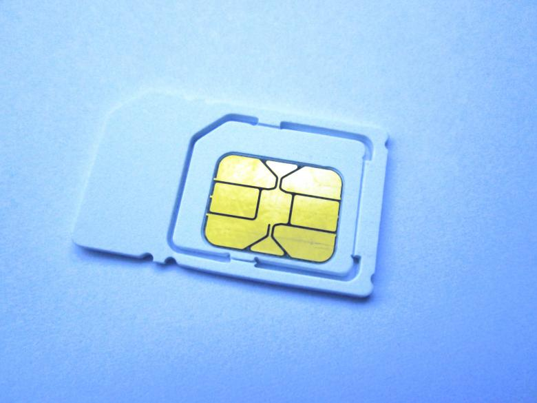Free Stock Photo of Sim Card Created by Galayanee