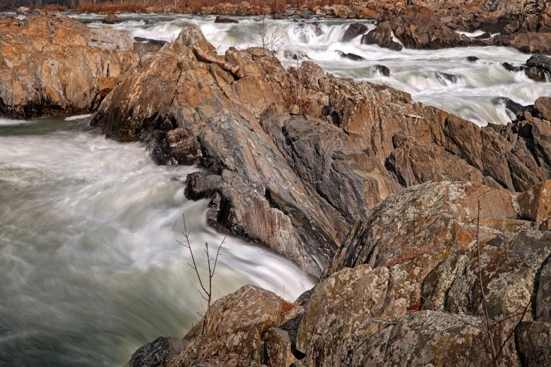 Free Stock Photo of Great Falls - HDR Created by Nicolas Raymond