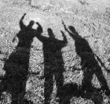 Free Photo - Excited Shadows