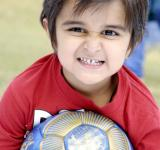 Free Photo - Cute Child With Football