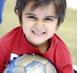 Free Photo - Cute Kid With Football