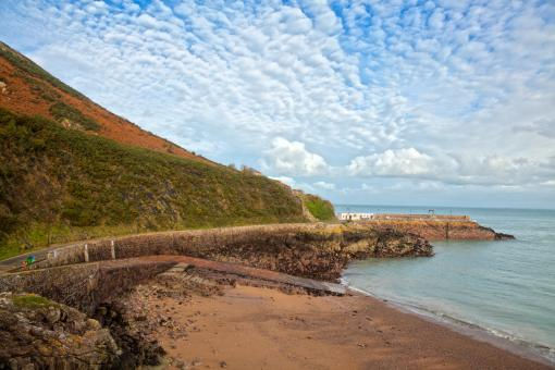 Jersey Coastal Scenery - HDR - Free Stock Photo