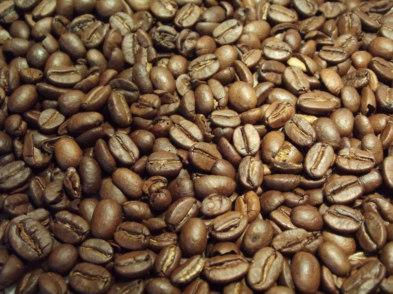 Free Stock Photo of Roasted Coffee Beans Created by Darren Lewis
