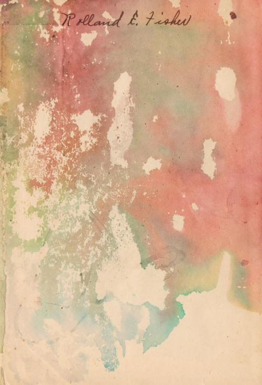 Color Stained Paper Texture - Free Grunge Backgrounds