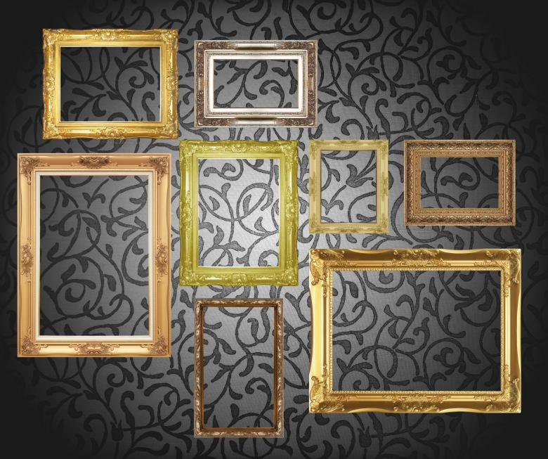 Free Stock Photo of Picture Frames Created by janniwet  wangkiri