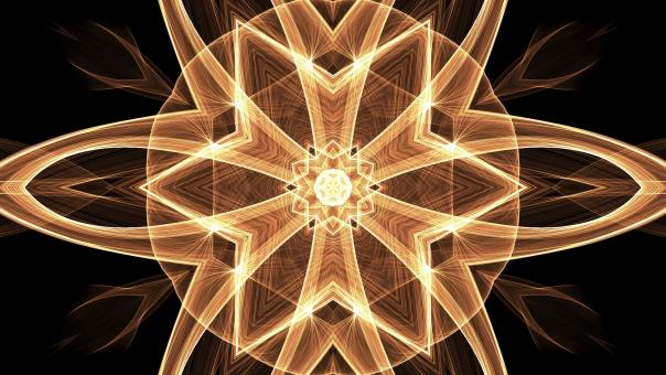 Abstract Fractal Art Wallpaper - Free Stock Photo