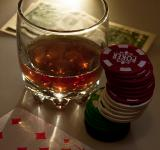Free Photo - Drink and playing cards