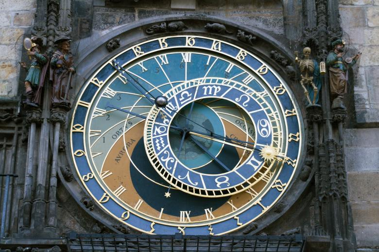 Free Stock Photo of Astronomical Clock Created by Geoffrey Whiteway