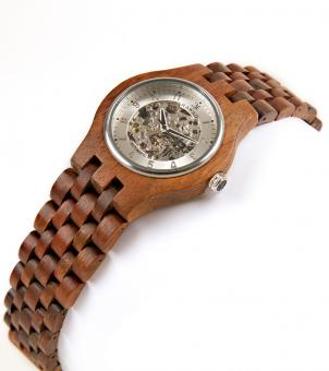 Koa Watch | Monarch Silver Face - Free Stock Photo