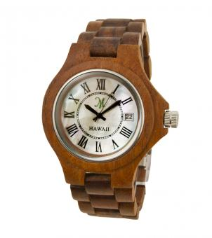 Mother Pearl Face Koa Watch - Free Stock Photo