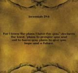 Free Photo - Mosaic Digital Art Jeremiah 29:11