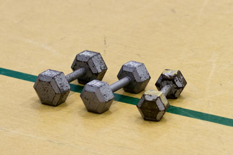 Free Stock Photo of Dumbbells Created by Geoffrey Whiteway