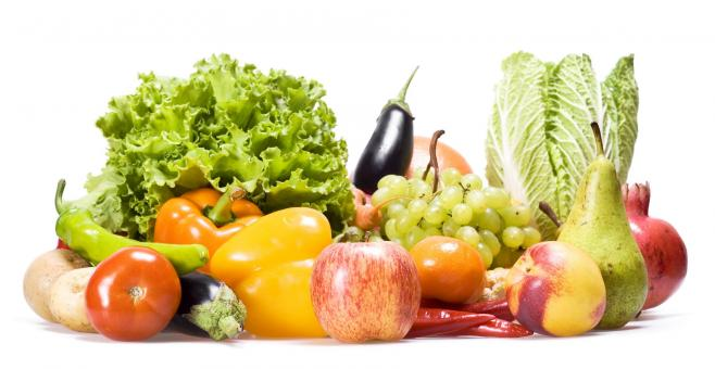 Fresh vegetables and fruits - Free Stock Photo