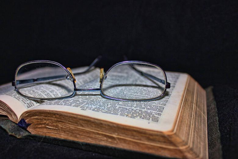 Free Stock Photo of Book and Glasses Created by Darren Lewis
