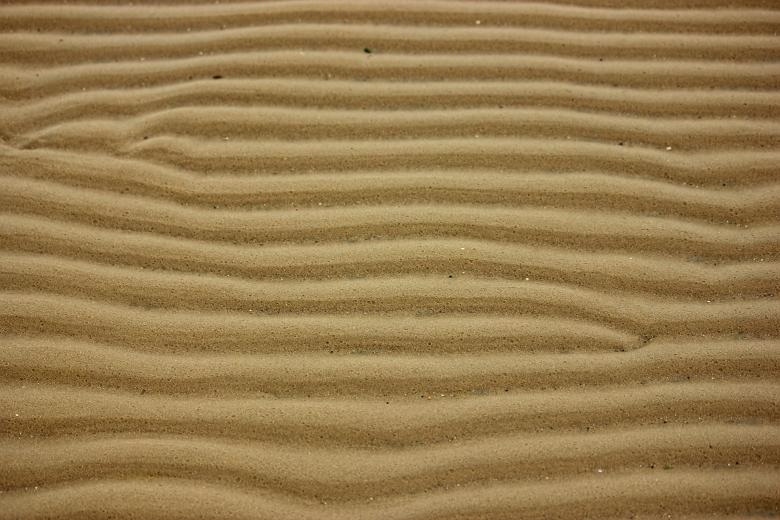 Free Stock Photo of Ripples in the Sand Created by Darren Lewis