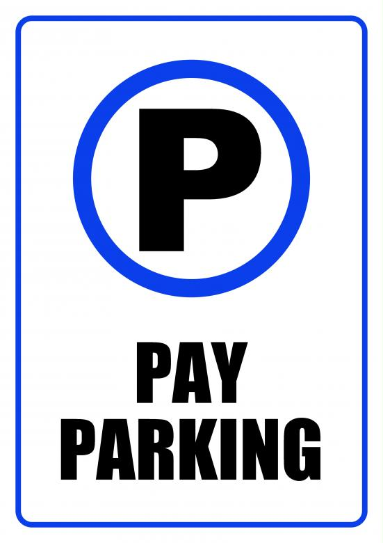 Free Stock Photo of Pay Parking Zone - Sign Created by Darren Lewis