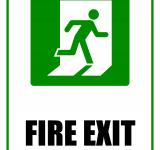 Free Photo - Fire Exit - Sign