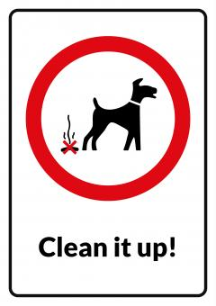 Clean It Up - Sign - Free Stock Photo