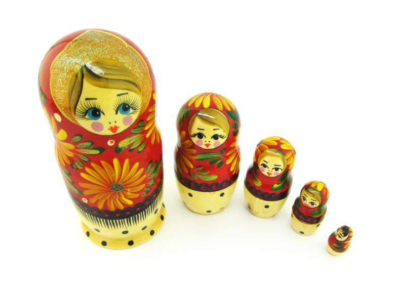 Free Stock Photo of Matrioshka dolls Created by 2happy