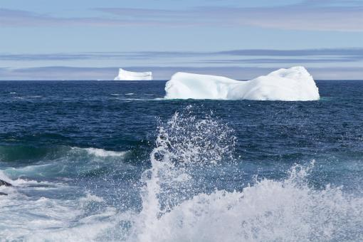 Icebergs - Free Stock Photo