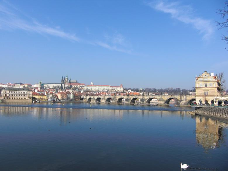 Free Stock Photo of Prague Bridge Created by Christian Cano