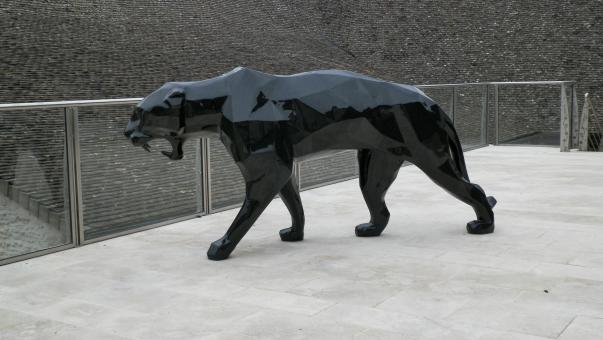 Panther statue - Free Stock Photo