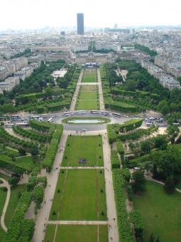 View from Eiffel Tower - Free Stock Photo