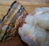 Free Photo - Split Lobster Tail on Cutting Board