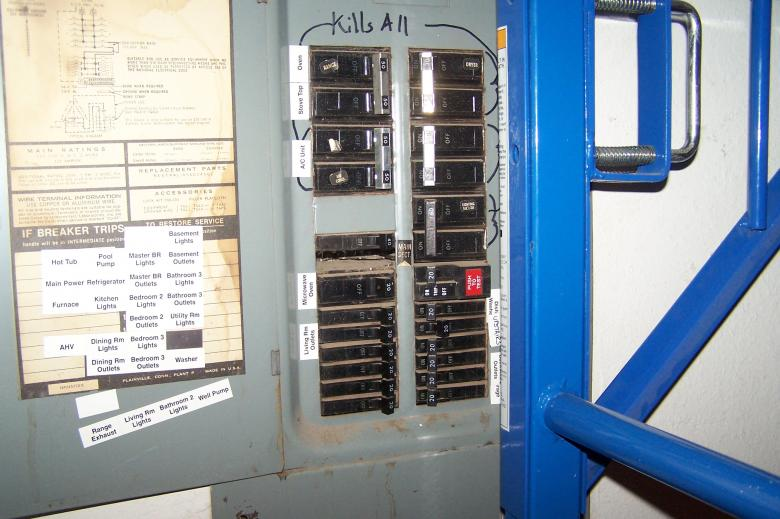 Free Stock Photo of Circuit Breaker Panel Created by delicopsch56