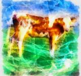 Free Photo - Cow Illustration