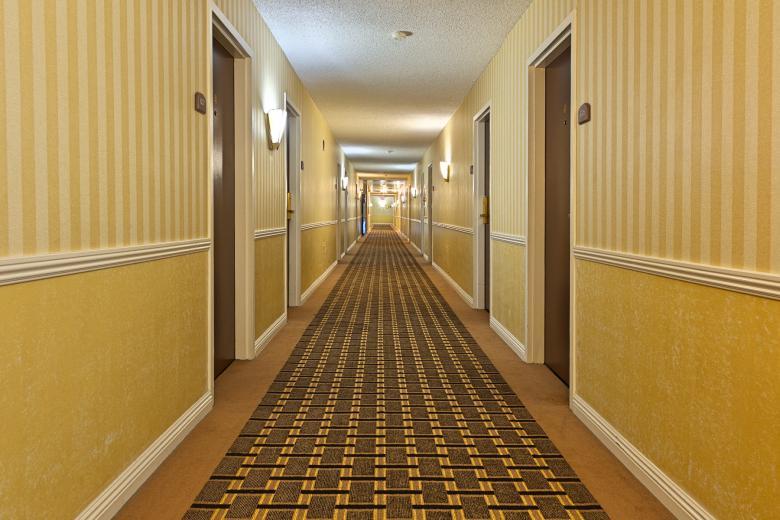 Illuminated Corridor - HDR - Free Interior Stock Photos