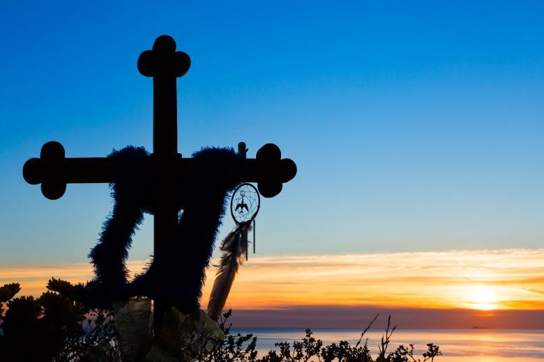 Sunset Serenity - Free Religion Stock Photos