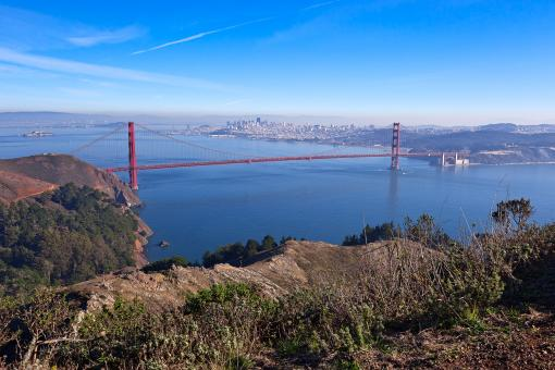 San Francisco & Golden Gate - HDR - Free Stock Photo