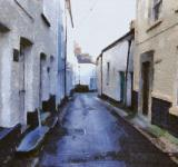 Free Photo - Historic Village Painting
