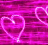 Free Photo - Pink Heart Banner