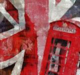 Free Photo - London Collage Painting