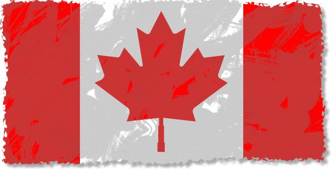 Canadian Flag Clipart - Free Stock Photo