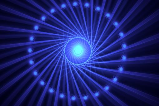 Fractal spinning light - Free Stock Photo