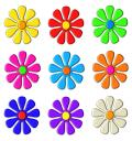 Free Photo - Flower Icons