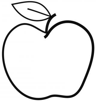 Apple Clipart - Free Stock Photo