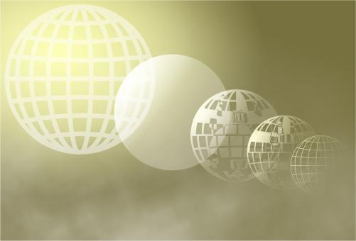 Abstract Globes - Free Stock Photo