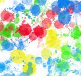Free Photo - Colourful Paint Splats