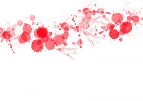 Red Paint Splats - Free Stock Photo